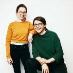 Die beiden Gründerinnen von Familyship – Dr. Christine Wagner (links) und Miriam Förster (rechts)